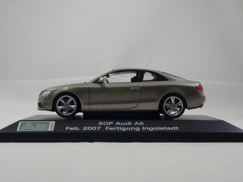 Audi A5 Coupe, 2007 Schuco, Start Of Production Feb. 2007