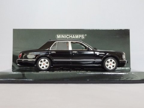 Bentley Arnage R, 2003, zwart, Minichamps, 436 139000