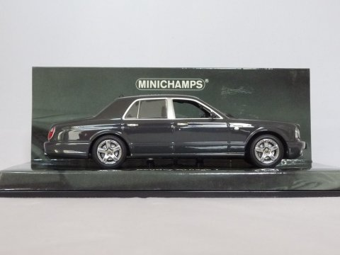 Bentley Arnage T, 2002, grijs, Minichamps, 436 136071