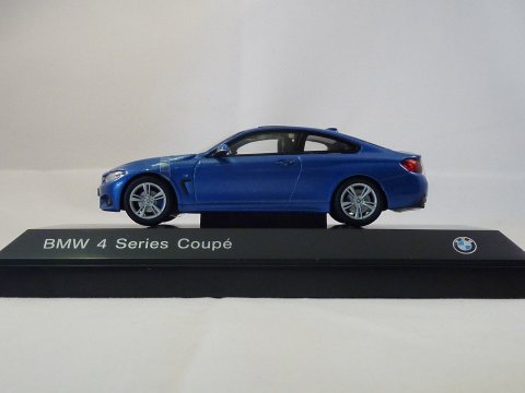 BMW 4-series coupe 2013 iScale Kyosho 80422318858