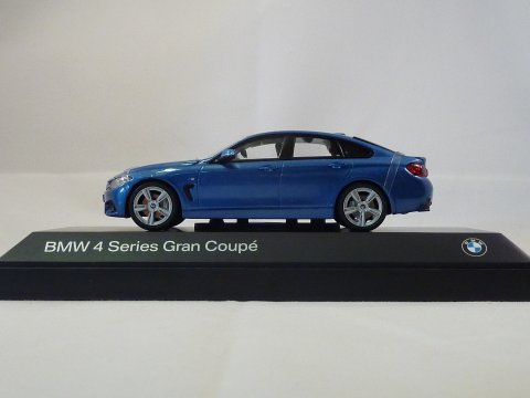 BMW 4-series gran coupe 2014 iScale Kyosho 80422348792