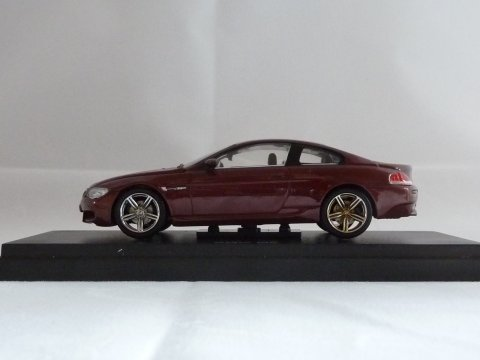 BMW, M6 Coupe (E63), 2006-2010, rood, Kyosho, 03513R
