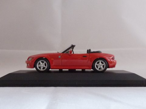 BMW, Z3 roadster (E36), 1995-1999, rood, Minichamps, 430 024330