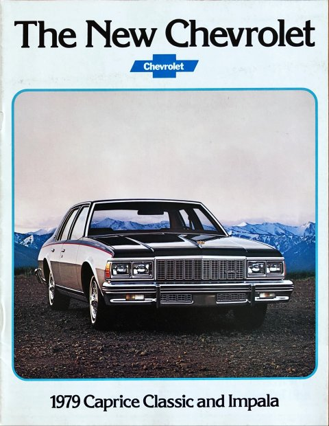 Chevrolet Caprice Classic and Impala 1979 nr. 3801, 1978-07 21,5 x 28,0, 16, EN year 1978 folder