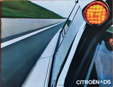 Citroën DS nr. -, 1971-09 21,0 x 27,0, 20, NL year 1971 folder brochure