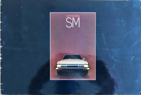 Citroën SM nr. -, 1973-06 22,0 x 32,5, 20, NL year 1973-06 folder brochure
