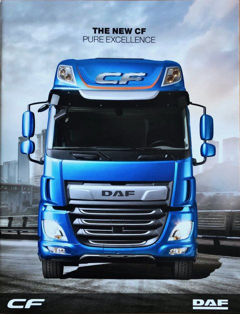 DAF CF nr. DW14317902/HG-GB0917, 2017-09 21,5 x 28,0, 28, EN year 2017 folder brochure