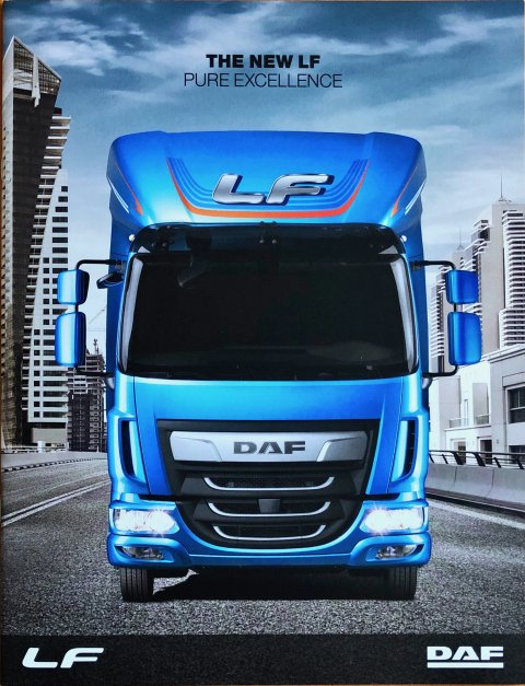 DAF LF nr. DW143199/HG-GB0817, 2017-08 21,5 x 28,0, 20, EN year 2017 folder brochure