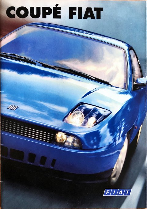 Fiat Coupe nr. 04.2.8851.22, 1997-10 A4, 36, NL year 1997 folder brochure