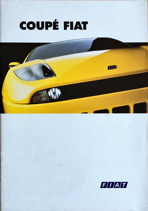 Fiat Coupe nr. -, 1994-09 A4, 36, NL year 1994 folder brochure