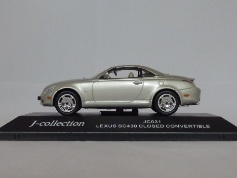 Lexus SC430 cabriolet, 2001, zilver, J-Collection, JC031