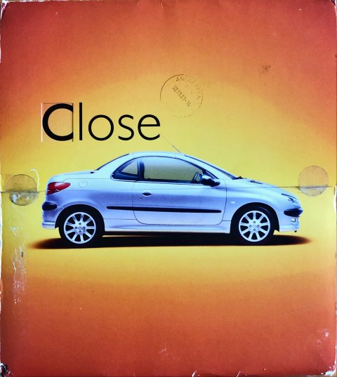 Peugeot 206 CC nr. -, 2000-10 21,0 x 24,0, 34, NL year 2000 folder brochure