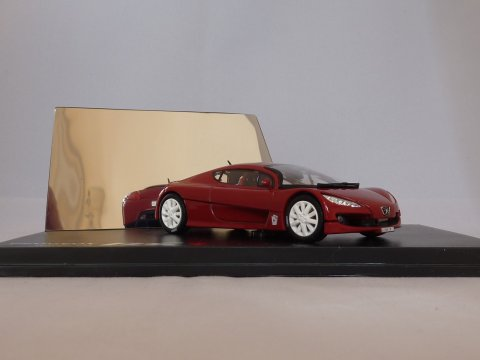 Peugeot RC Carreau Concept Car, 2002, rood, Norev, 472704