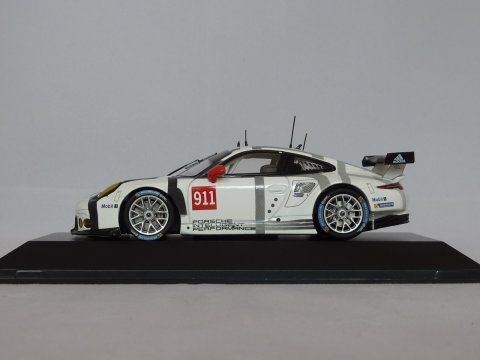Porsche 911 - 991.1 Coupe GT3 RSR Presentation car, 2015, wit, Spark, WAP 020 137 0G