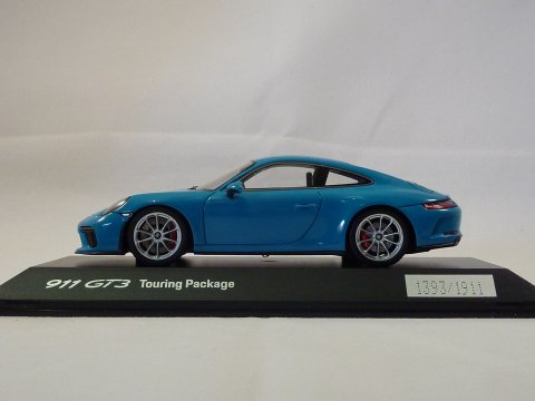 Porsche 911 - 991.2 Coupe GT3 Touring Package Miami Blau 2017 Spark WAP 020 163 0J