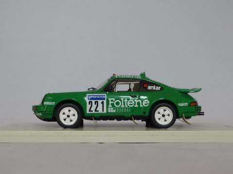 Porsche Sports car 911 - 911 Dakar #221, 1988, groen, Spark, SF035