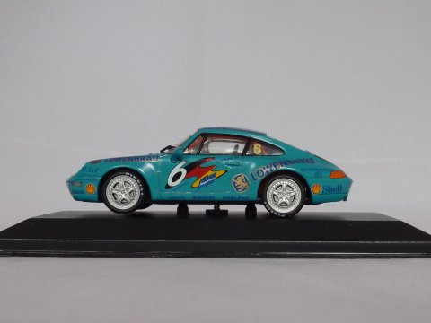 Porsche sports car 911 - 993 Supercup H. Haupt, 1994, blauw, Minichamps, 430 946306