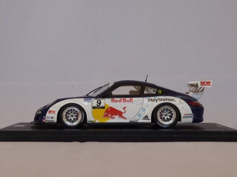 Porsche Sports car 911 - 997 Carrera Cup, #9, GP Pau,  Sebastian Loeb, 2012, wit:paars, Spark, SF037