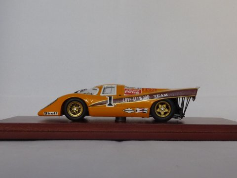 Porsche 911 K, 1970 Kyalami 9H  Team Gunstion / Coca-Cola True Scale Miniatures, nr. TSM114311