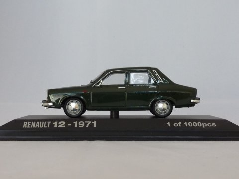 Renault 12, 1971, groen, Norev, 511214 website