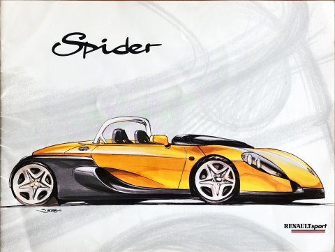 Renault Spider nr. 36 F11 B2, 1996-04 22,5 x 30,0, 32, EN-FR year 1996 folder brochure