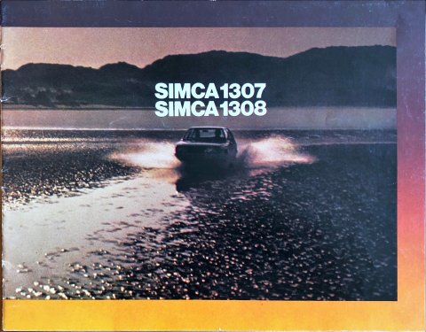 Simca 1307 - 1308 nr. -, 1975-08 23,0 x 30,0, 20, NL year 1975 folder brochure