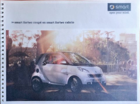 Smart Fortwo Coupe : Cabrio nr. -, 2009 21,0 x 28,5, 38, NL year 2009 folder brochure