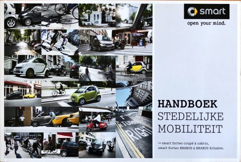Smart Fortwo Coupe / Cabrio nr. MC451 . 07-01 / 0311, 2011 16,8 x 24,8, 112, NL year 2011 folder brochure