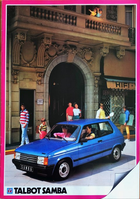 Talbot Samba nr. -, 1982 (mj. 1983) A4, 20, NL year 1982 folder brochure