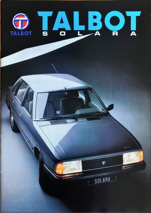 Talbot Solara nr. -, 1981 (mj. 1982) A4, 20, NL year 1981 folder brochure