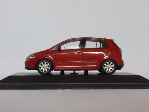 VW Golf Plus, 2005-2009, rood, Minichamps, - website