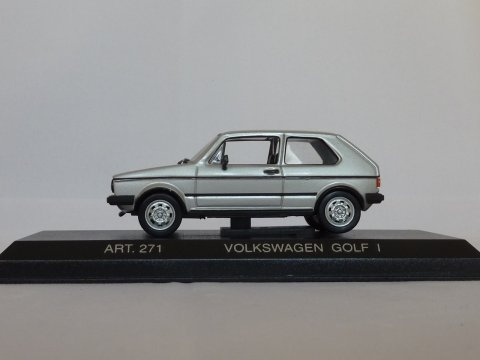 VW Golf Type 1 GTI, 1976, zilver, Detail Cars, 271 website