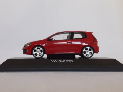 VW Golf Type 6 GTD, 2009, rood, Schuco, 450740500 website
