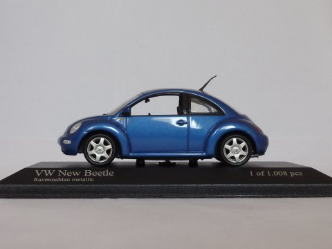 VW New Beetle, 1998, blauw, Minichamps, 430 058004 website